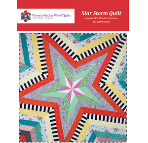 "*NEW* Star Storm 80"" Quilt Kit - Blues"