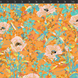 *NEW* VF400-OR2 Wild Acres - Poppy - Orange Fabric