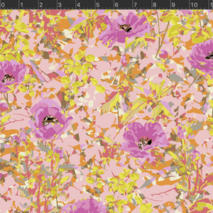 *NEW* VF400-PI3 Wild Acres - Poppy - Pink Fabric
