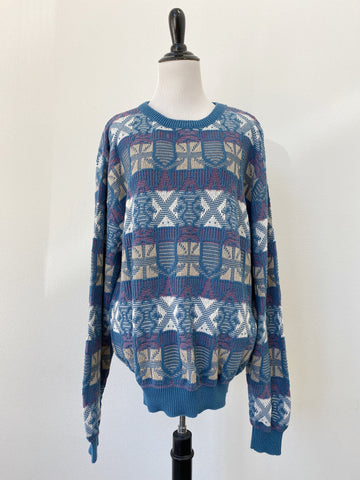 Oversize Knitted Sweater - Size XL