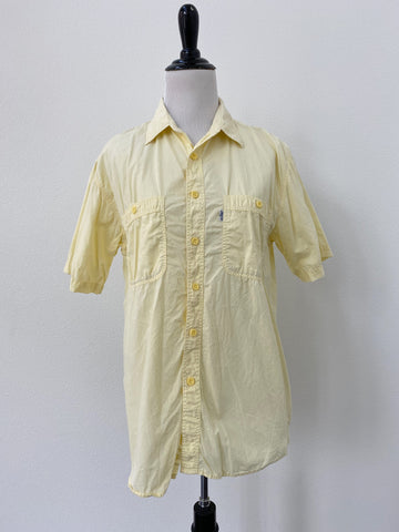 Levi's Short Sleeve Button Up - Size M