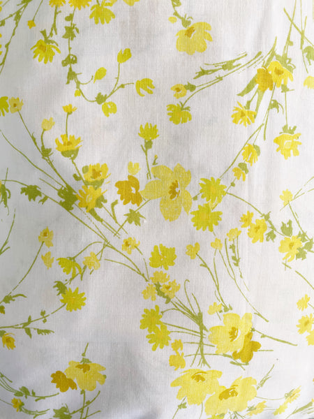 Yellow Prairie Floral Pillowcase