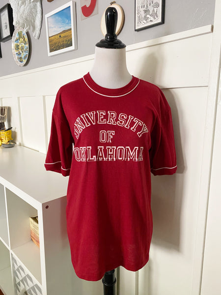 Paper Thin University of Oklahoma T-Shirt - Size S/M