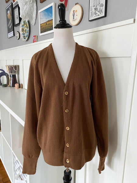 Brown Cardigan - Size L