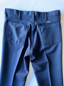 Wrangler Navy Poly Pants - Size 32