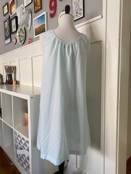 Pale Blue and Lace Nightgown - Size S