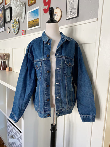 Dark Wash Denim Jacket - Size M/L