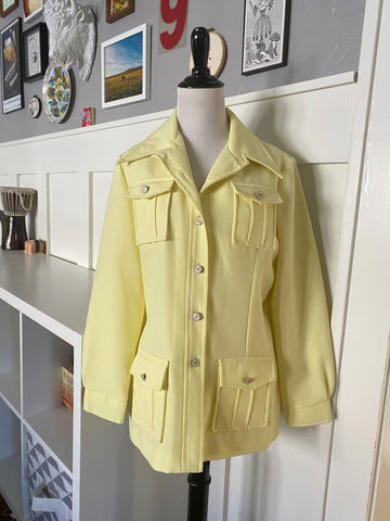 Butta Yellow Jacket - Size M