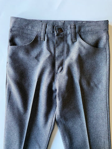 Wrangler Gray Poly Pants - Size 31