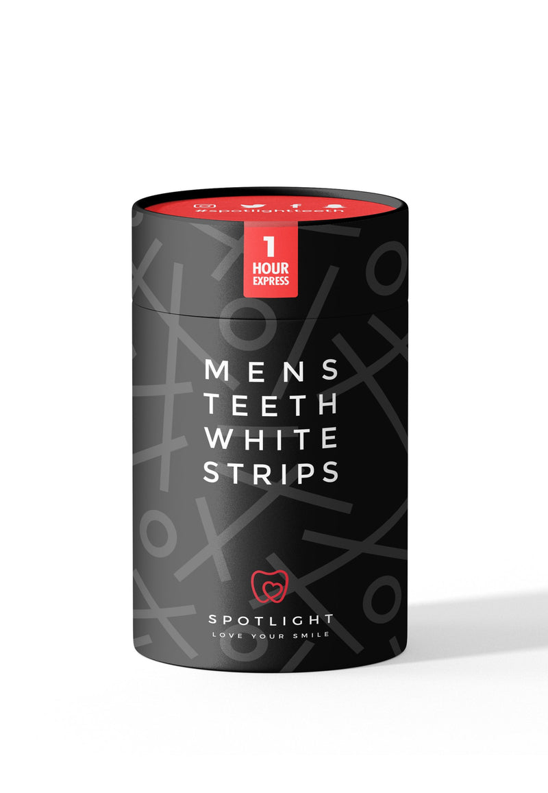 Teeth Whitening Strips-sett for menn