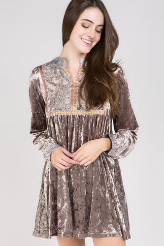 The Luxury Velvet and Tulle Tunic