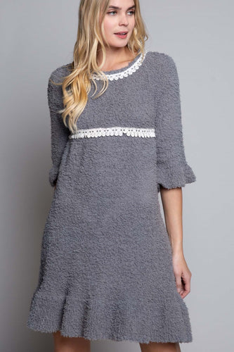 Dreamy Clouds of Berber Fleece Dress