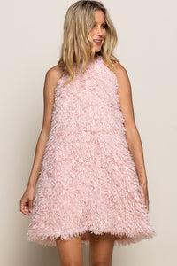 Shag 60's Mod Pink Flamingo Party Dress