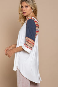 "The ""MISS-oni"" Boho Knit Top"