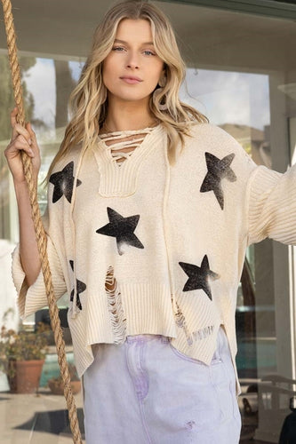 POL Star Spangled Stars Transitional Top