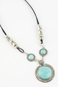 Mad About about Turquoise Pendant Necklace