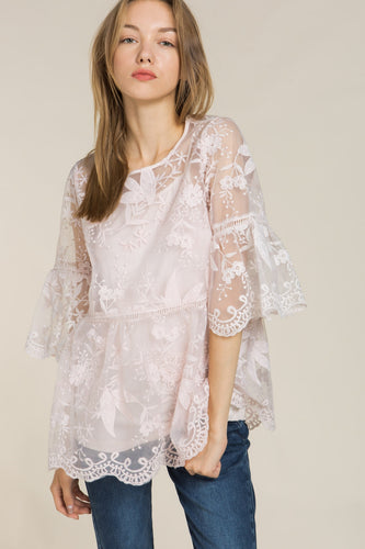Savanna 2 Piece Fairy Lace Top