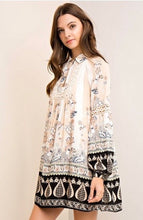 Load image into Gallery viewer, Kayleigh Floral Print Tunic Dress