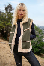 Load image into Gallery viewer, Cheyenne Suede Faux Fur Vest