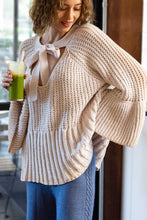 Load image into Gallery viewer, Canyon Rose Big Bow & Bell Sleeves Sweater