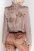 Load image into Gallery viewer, POL Easy Rider Moto Suede Jacket