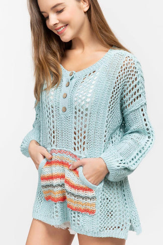 Boho Gypsy Wanderlust Sweater