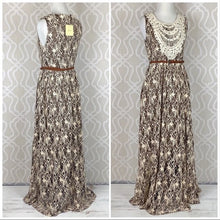 Load image into Gallery viewer, Farmhouse Lace Boho Maxi Dress