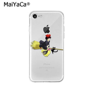 MaiYaCa Studio Ghibli Totoro Ponyo Spirited Away TPU Soft Phone Case Cover for iPhone X XS MAX  6 6s 7 7plus 8 8Plus 5 5S SE XR