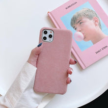 Load image into Gallery viewer, Velvet For Iphone 6 6s 7 8P X Xs Xr Max 11 Pro MAX 2019 Plush Cloth Drop Phone Case Cover