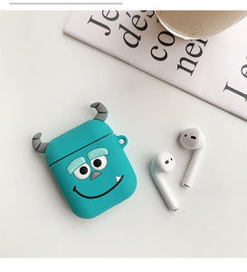Soft Silicone Bluetooth Wireless Earphone Case For AirPods Protective Cover Skin Accessories for Apple Airpods Charging Box