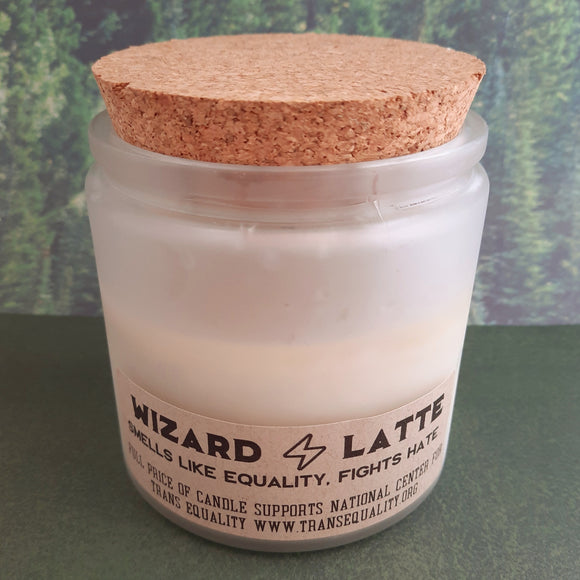 Wizard Latte Charity Candle