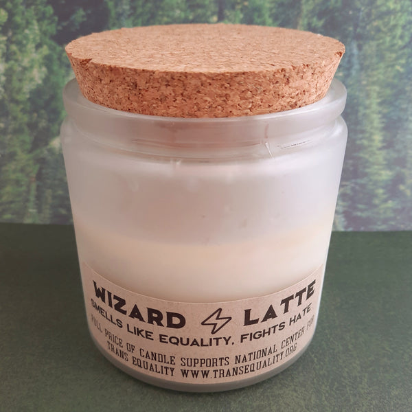 Wizard Latte Candle