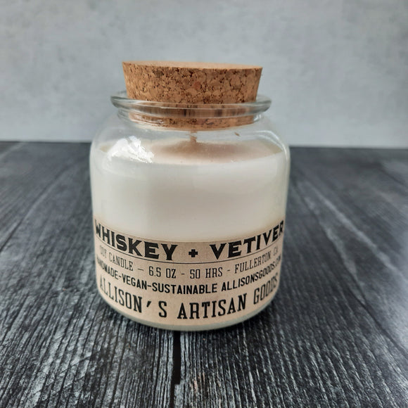 Whiskey + Vetiver Candle