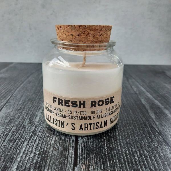 Fresh Rose Candle
