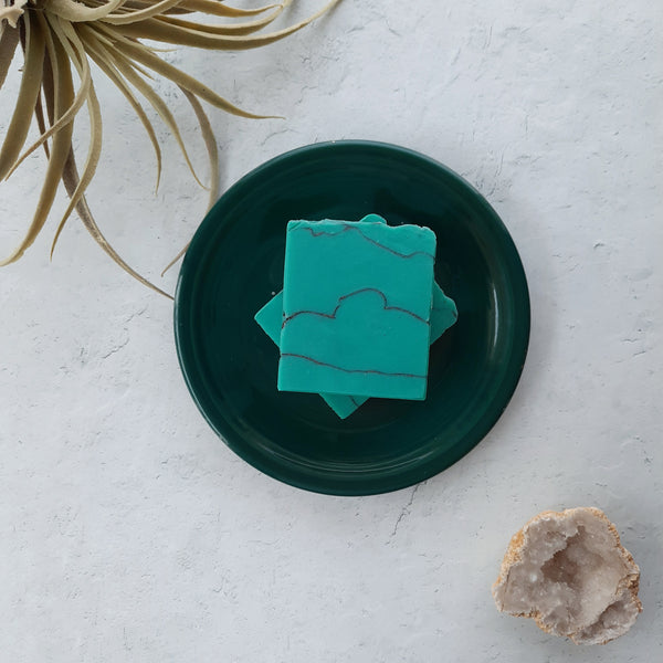 Turquoise Mint Artisan Soap