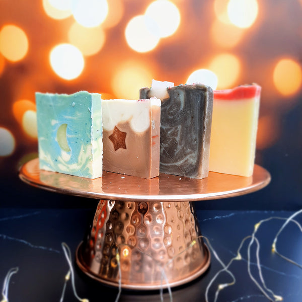 Holiday Collection Artisan Vegan Soaps