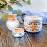 Rad Face: Plant Butter Facial Oil Solid Moisturizing Balm