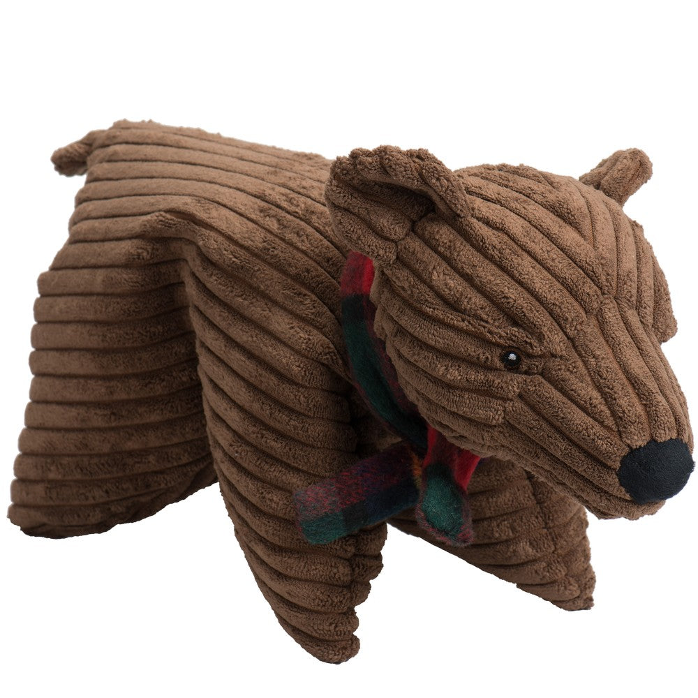 HuggleHounds Holiday 2020 Original Corduroy Squooshie Polar Bear - Small