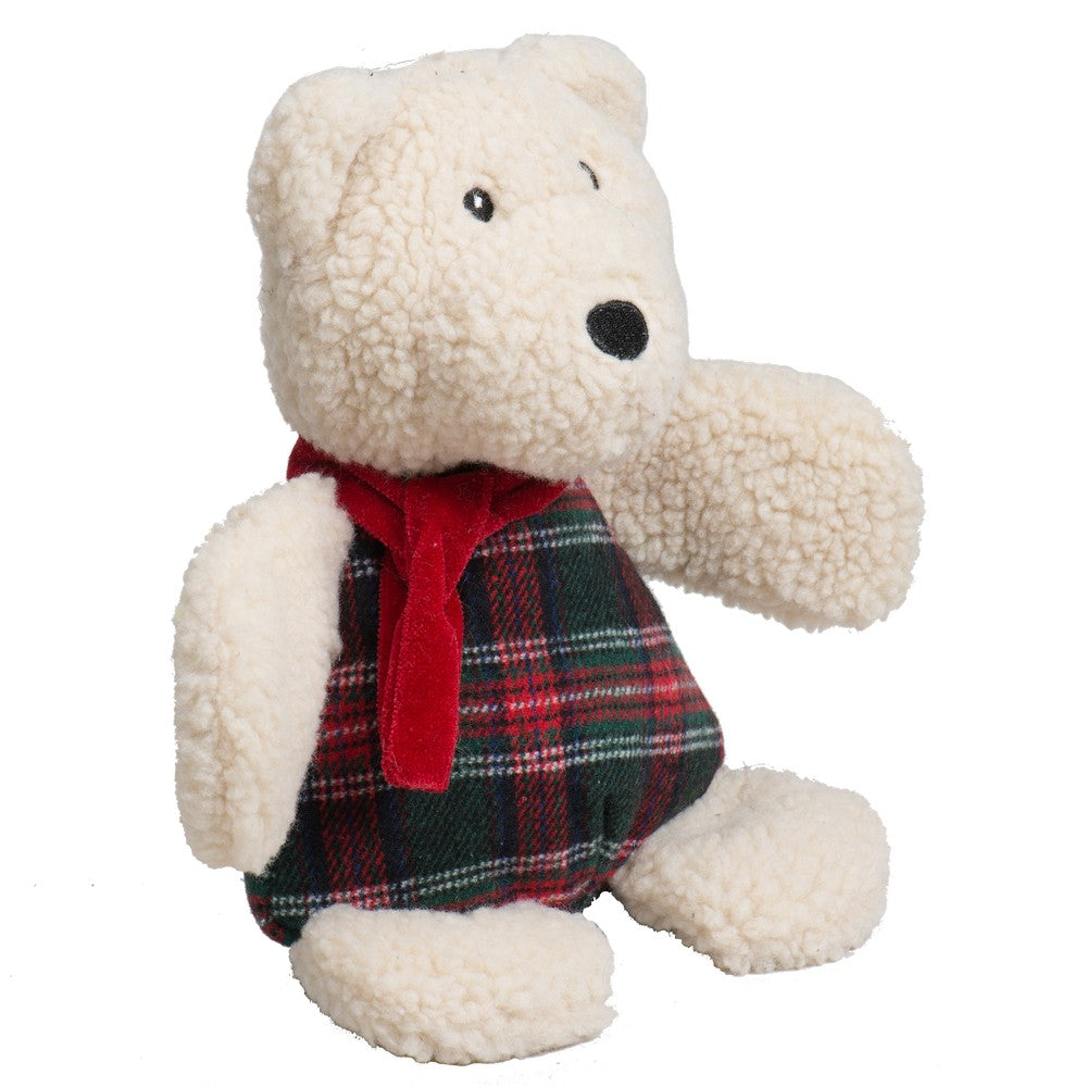 HuggleHounds Holiday 2020 Soft n' Snugglie Chubbie Buddie Polar Bear - Small