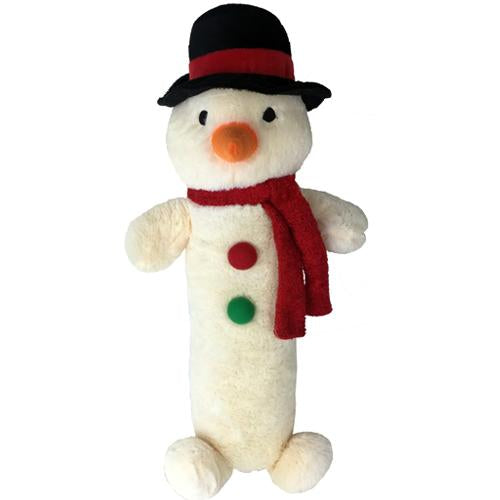 Petlou Holiday 2020 Snowman Stick Dog Toy, 20
