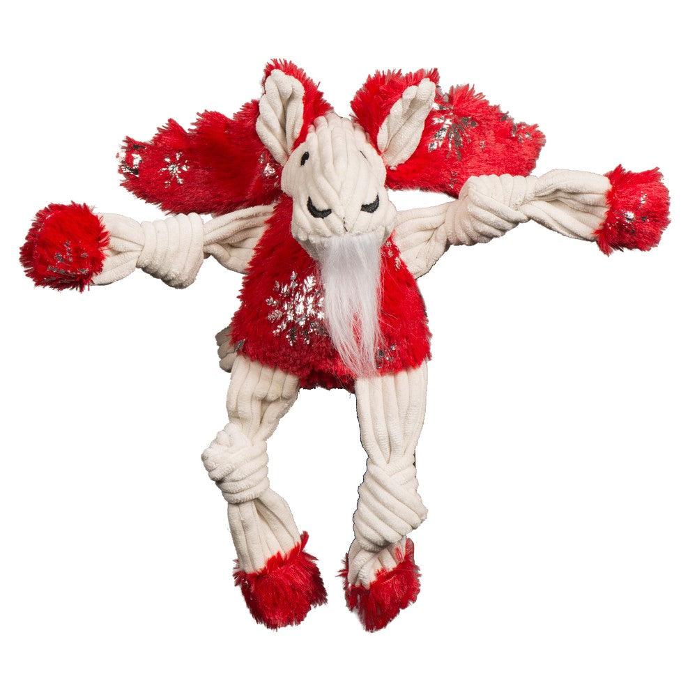 HuggleHounds Holiday 2020 Puttin' on the Glitz Moose Knottie - Small