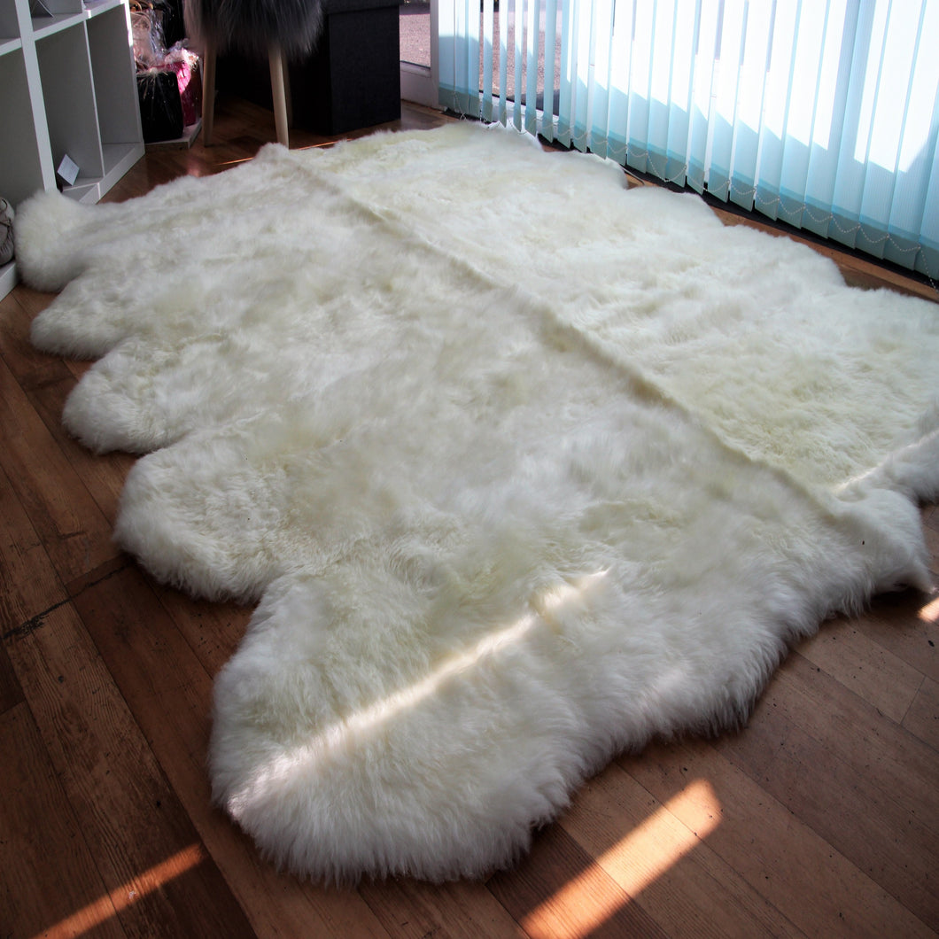 Natural Sheepskin Rug (Deca) - 10 Fleece