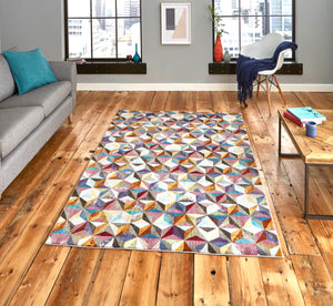 16th Avenue 34A Multi-Coloured Modern Rug
