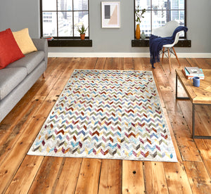 16th Avenue 36A Multi Coloured Modern rug