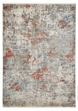 Load image into Gallery viewer, Athena 18597 Grey & Terracotta Traditional Rug