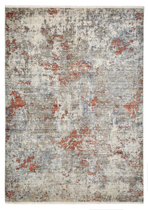 Athena 18597 Grey & Terracotta Traditional Rug