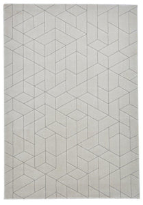 Aurora 53515 Geometric Shapes Modern Rug