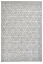 Load image into Gallery viewer, Aurora 54238 Geometric Design Modern Rug