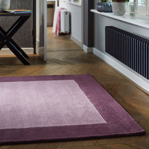 Borders Colourful Two Tone Modern Rugs