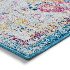 Boston G0532 Traditional Fiesta Theme Colourful Rug